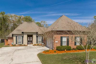 Denham Springs Single Family Home For Sale: 13767 Shady Hollow Dr