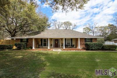 Denham Springs Single Family Home For Sale: 6875 Springwood Dr