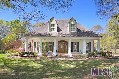 Zachary Single Family Home For Sale: 19919 Tucker Rd
