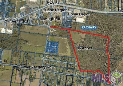 Zachary Residential Lots & Land For Sale: Carpenter Rd