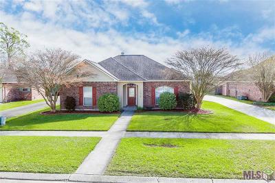 Prairieville Single Family Home For Sale: 17028 Fountainbleau Dr
