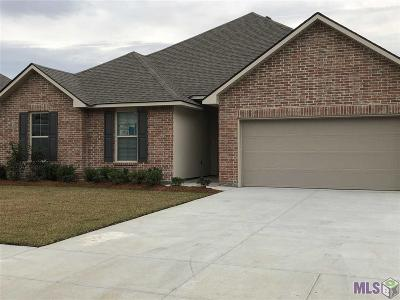 Prairieville Single Family Home For Sale: 17535 Eagles Perch Dr