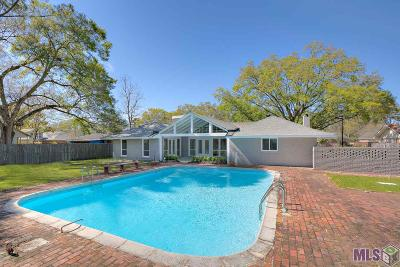 Baton Rouge Single Family Home For Sale: 1044 E Lakeview Dr