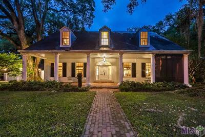 Baton Rouge LA Single Family Home For Sale: $1,279,000