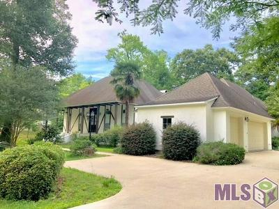 Denham Springs Single Family Home For Sale: 7845 Belle Helene Dr