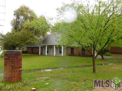 Zachary Single Family Home For Sale: 4321 Cherry Ct