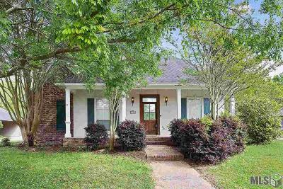 Zachary Single Family Home For Sale: 3501 Jim East Ave