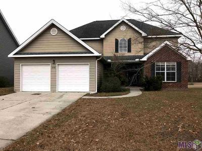 Prairieville Single Family Home Contingent: 18142 Victoria Webb