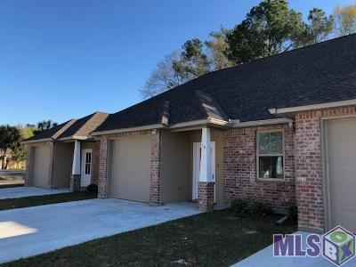 Denham Springs Condo/Townhouse For Sale: 34832 La Hwy 1019 #11B