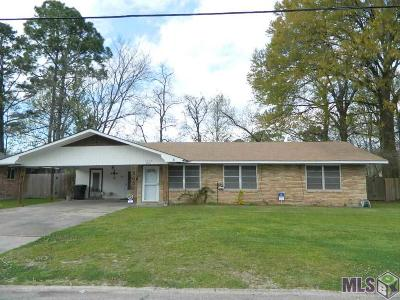 Baton Rouge LA Single Family Home For Sale: $108,000