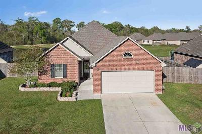 Prairieville Single Family Home For Sale: 16165 Timberstone Dr
