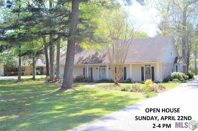 Baton Rouge Single Family Home For Sale: 16446 Centurion Ave