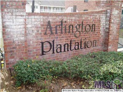 Baton Rouge Condo/Townhouse For Sale: 5151 Arlington Ct #5151