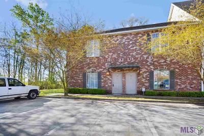 Baton Rouge Condo/Townhouse For Sale: 2405 Brightside Dr #E-38