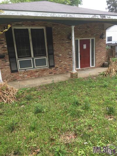 Baton Rouge Single Family Home For Sale: 3633 Conrad St
