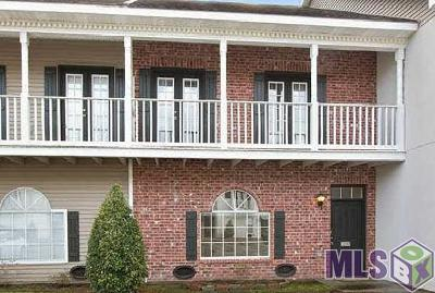 Baton Rouge Condo/Townhouse For Sale: 3227 Cypress Hall Alley