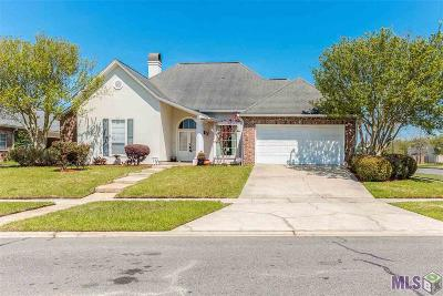 Baton Rouge Single Family Home For Sale: 12451 Kentmere Ave