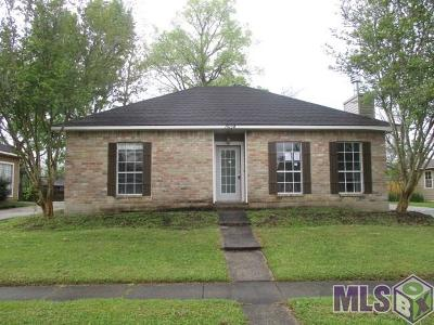 Baton Rouge LA Single Family Home For Sale: $130,000