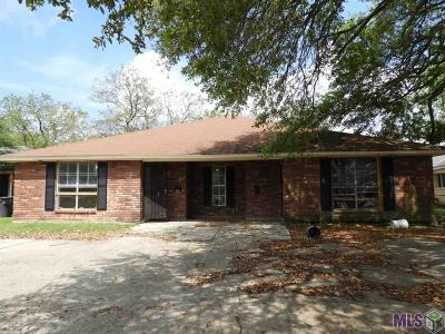 Baton Rouge Multi Family Home For Sale: 12351-53 Shay Ave