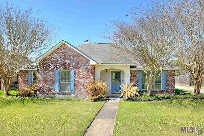 Zachary Single Family Home For Sale: 3491 Ramey Dr