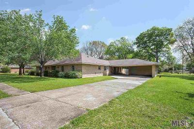 Zachary Single Family Home For Sale: 5406 Bogey