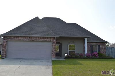 Gonzales Single Family Home For Sale: 14013 Emma Way Cove Dr