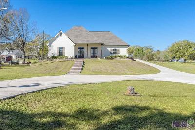 Prairieville Single Family Home For Sale: 18537 Manchac Acres Rd