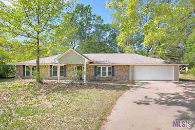 Denham Springs Single Family Home For Sale: 8380 Lockhart Rd