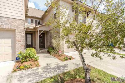 Prairieville Condo/Townhouse For Sale: 18122 Pinehurst Dr