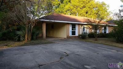 Denham Springs Single Family Home For Sale: 645 Jean St