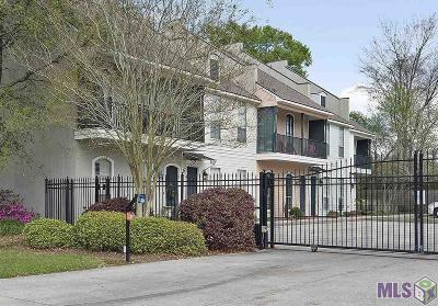Baton Rouge Condo/Townhouse For Sale: 11804 Parkview Ct