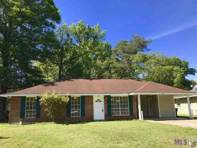 Denham Springs Single Family Home For Sale: 1993 Elmer St