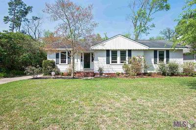 Baton Rouge Single Family Home For Sale: 1337 Aberdeen Ave