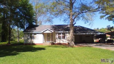 Zachary Single Family Home For Sale: 10323 McCullough Rd
