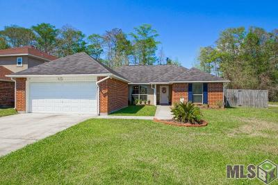 Denham Springs Single Family Home For Sale: 23845 Sandlewood Ct