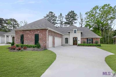 Denham Springs Single Family Home For Sale: 7342 Bessie Dr
