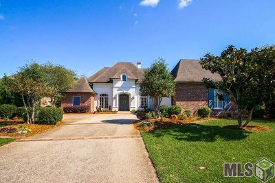 Baton Rouge Single Family Home For Sale: 12139 Lake Estates