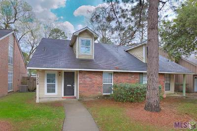 Baton Rouge Condo/Townhouse For Sale: 1328 Sharlo Ave