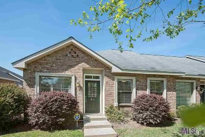 Baton Rouge Condo/Townhouse For Sale: 12500 Old Hammond Hwy #R-4