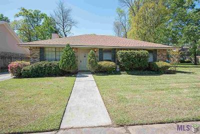 Baton Rouge Single Family Home For Sale: 2438 Elwick Dr
