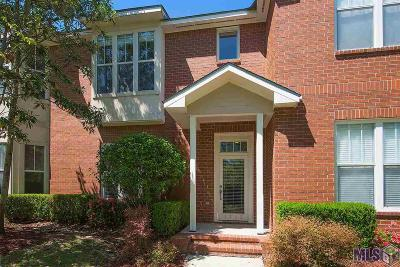 Baton Rouge Condo/Townhouse For Sale: 1343 Bromley Park Dr #2