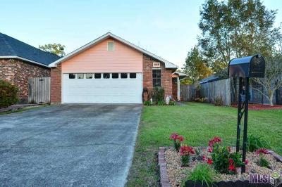 Baton Rouge LA Single Family Home For Sale: $160,000