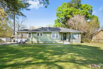 Baton Rouge LA Single Family Home For Sale: $154,500