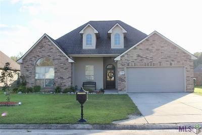 Denham Springs Single Family Home For Sale: 13352 Alder Dr