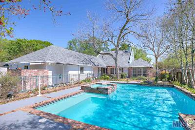 Baton Rouge Single Family Home For Sale: 641 Millgate Pl