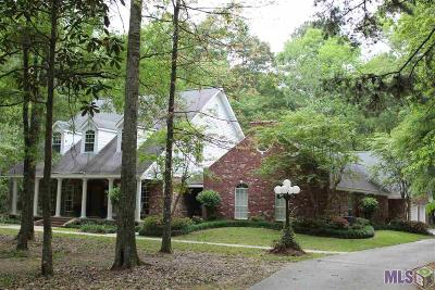 Denham Springs Single Family Home For Sale: 8595 Wildwood Dr