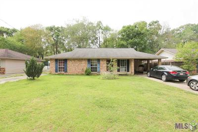Gonzales Single Family Home For Sale: 13213 She Lee Place Rd