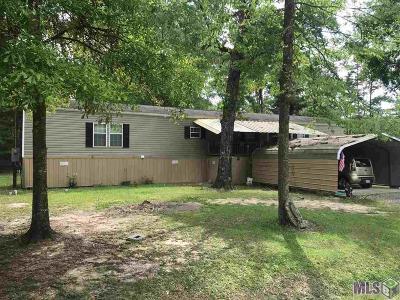 Denham Springs Single Family Home For Sale: 26616 Walker South Rd