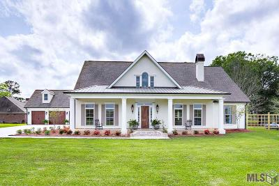 Denham Springs Single Family Home For Sale: 535 Tranquility Dr