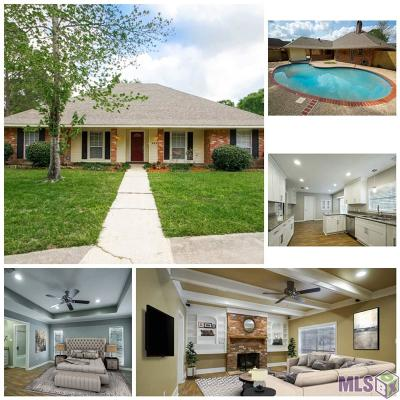 Baton Rouge Single Family Home For Sale: 835 Woodcliff Dr